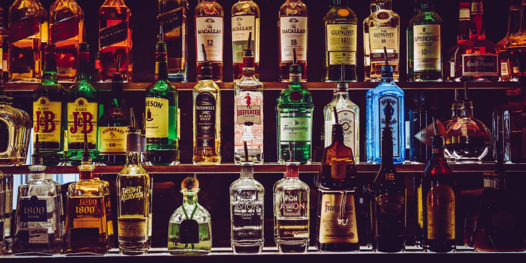 The taxes on imported liquor can add up quickly