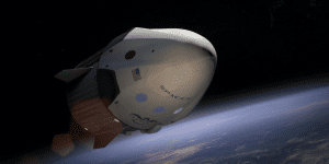 Private American company SpaceX launches space flight